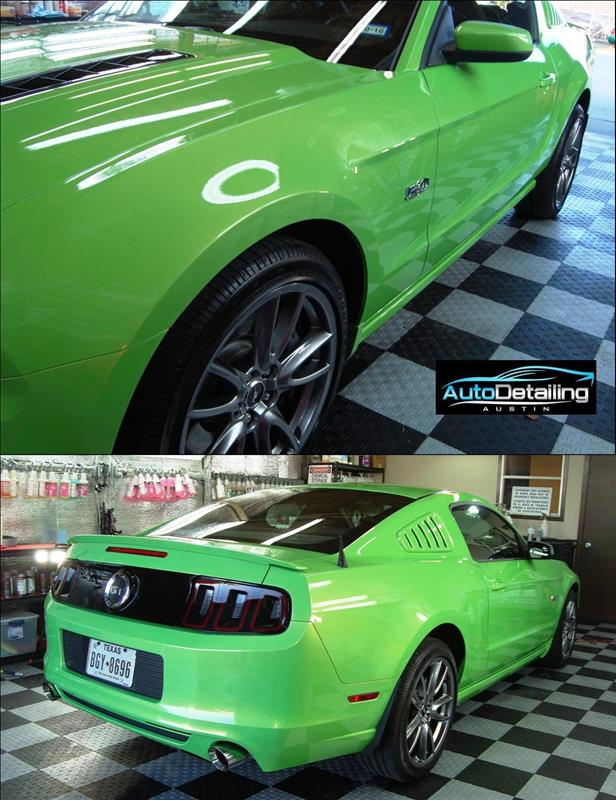 2013-Ford-Mustang-Auto-Detailing-Austin Green