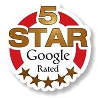 5 Stars on Google