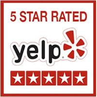 5 Stars on Yelp
