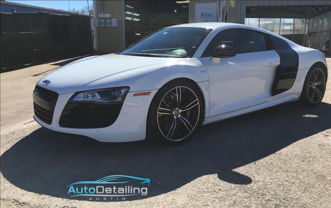 Audi R8 Auto Detailing Austin