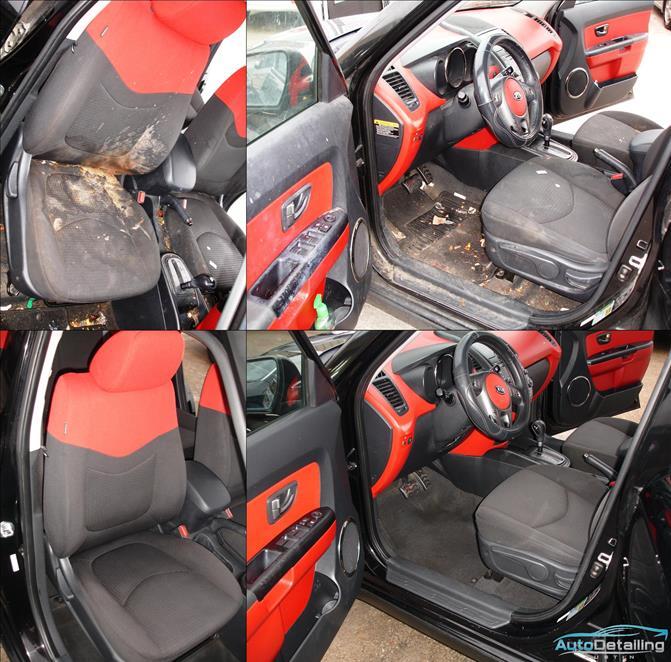 Auto Detailing Austin Kia Soul Interior