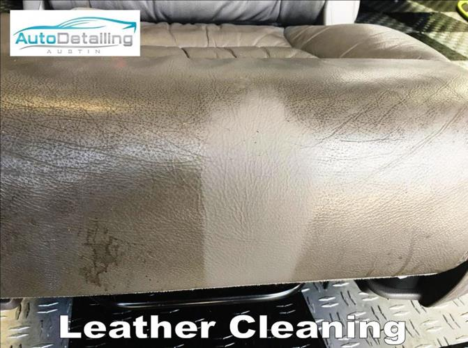 Auto Detailing Austin Leather Cleaning